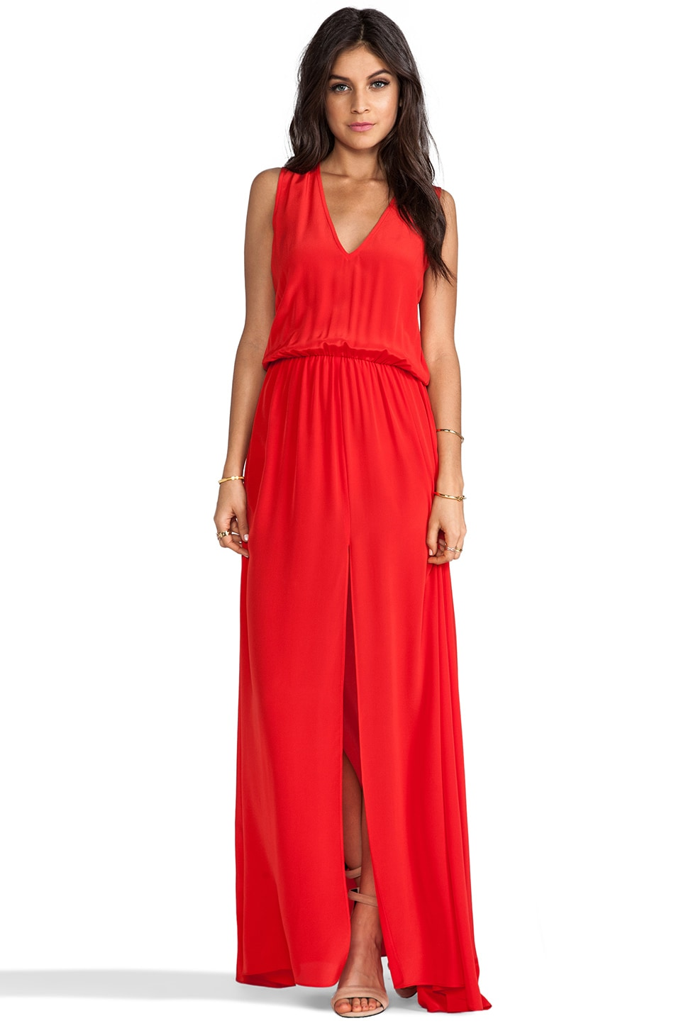 Alexis Aviva Maxi Dress in Red