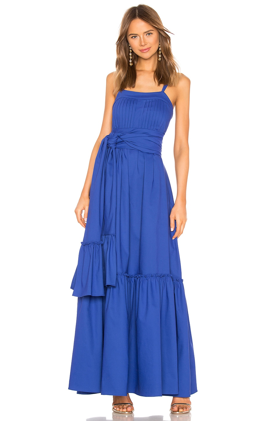 Alexis Ophira Dress in Cobalt Blue