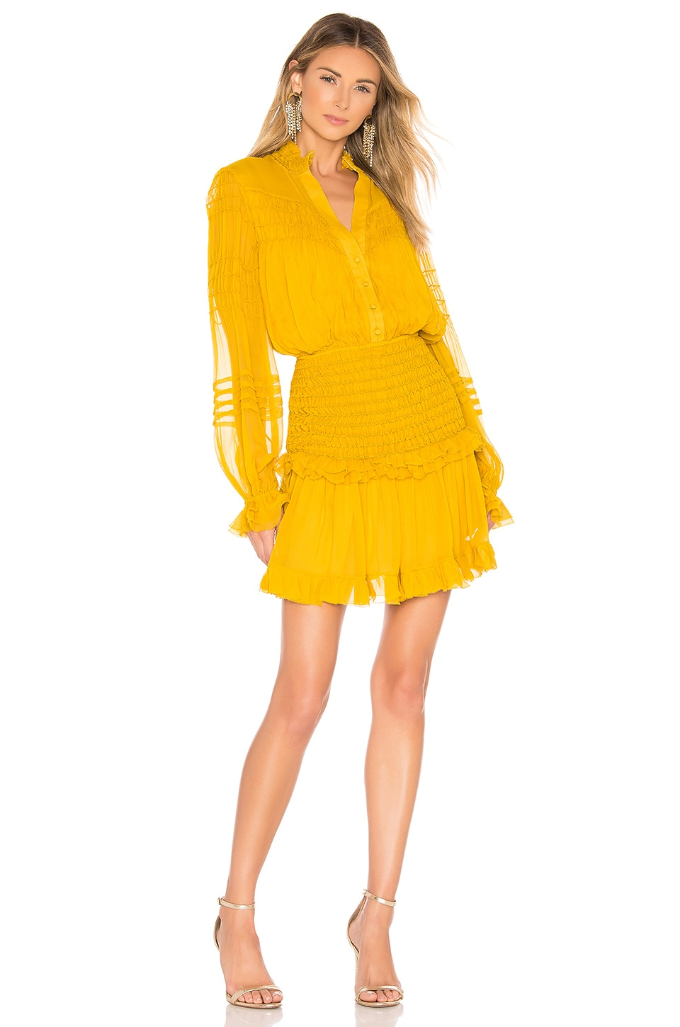 Alexis X REVOLVE Shaina Dress in Yellow