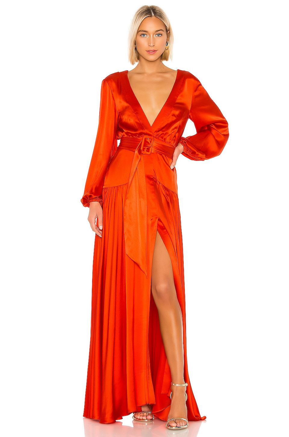 Alexis Modesta Gown in Red