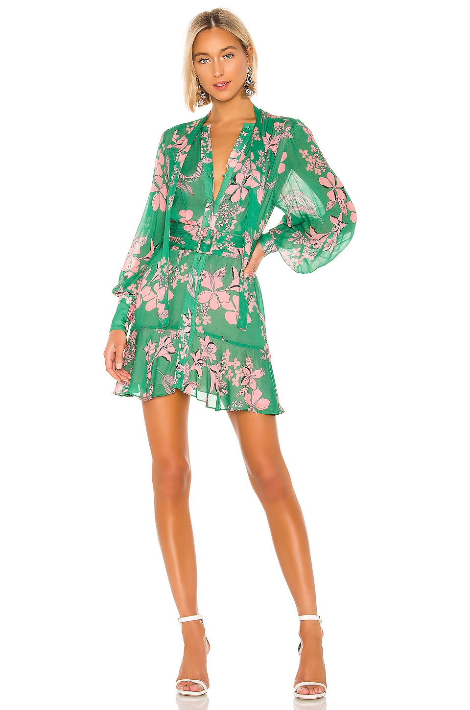 Alexis Tisdale Dress in Island Floral