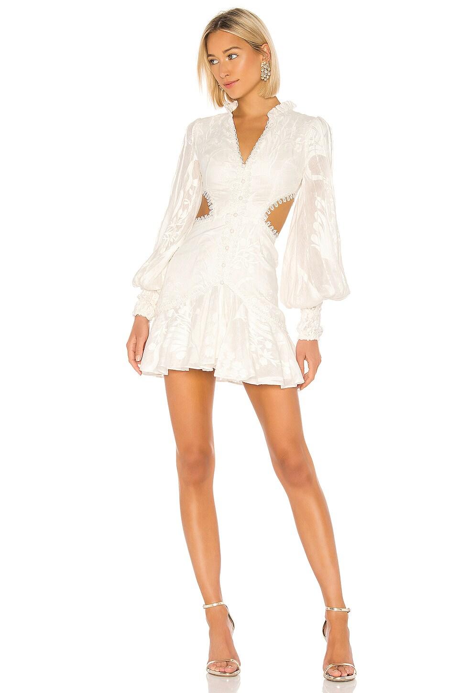 Alexis Sarabeth Dress in White