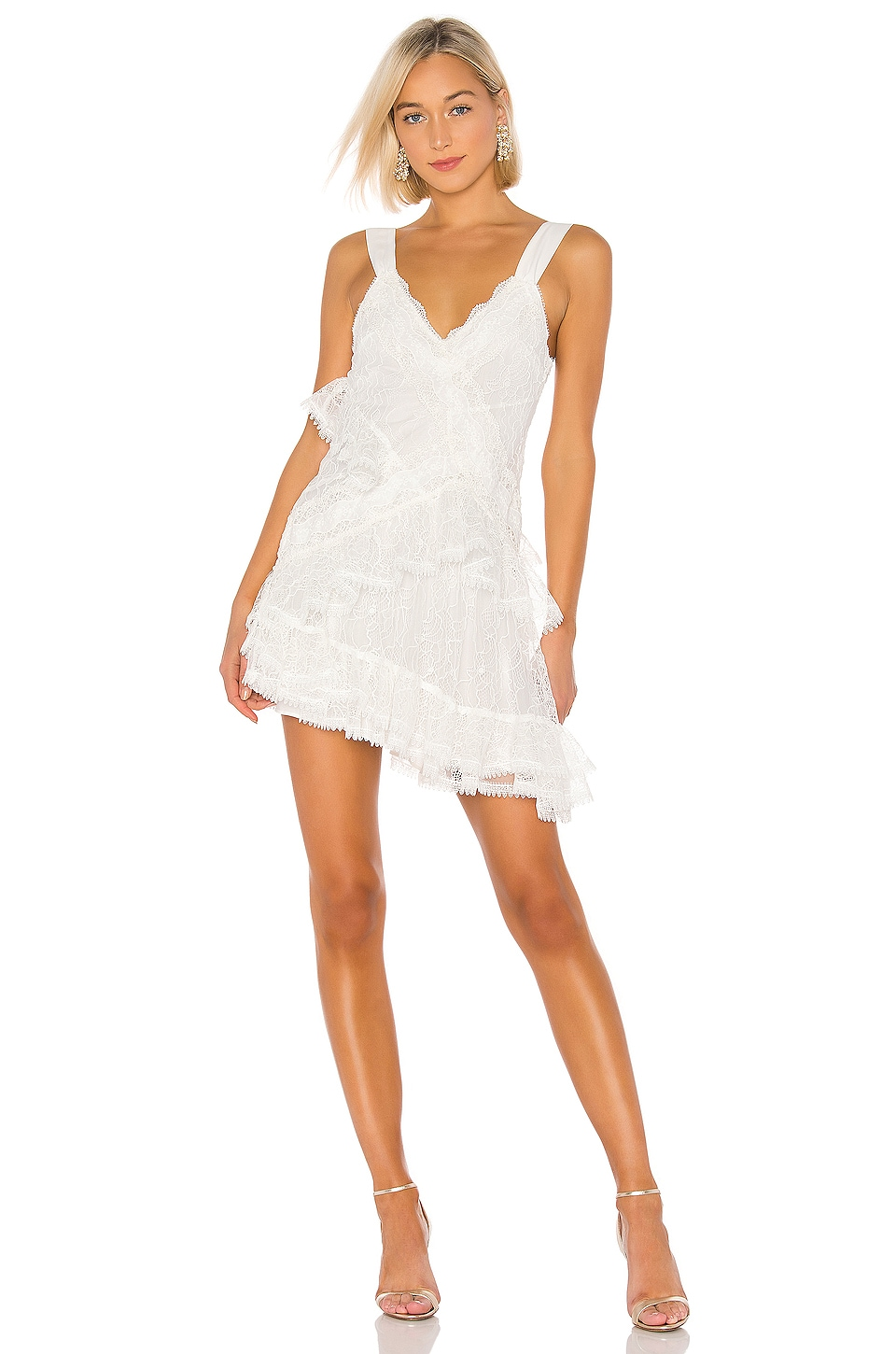 Alexis Ladonna Dress in White