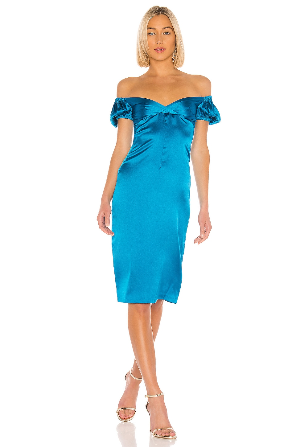 Alexis Cadiz Dress in Capri Blue