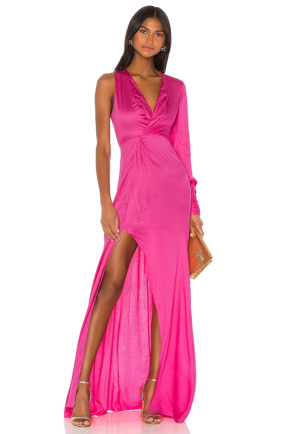 Alexis X REVOLVE Baila Dress in Neon Pink