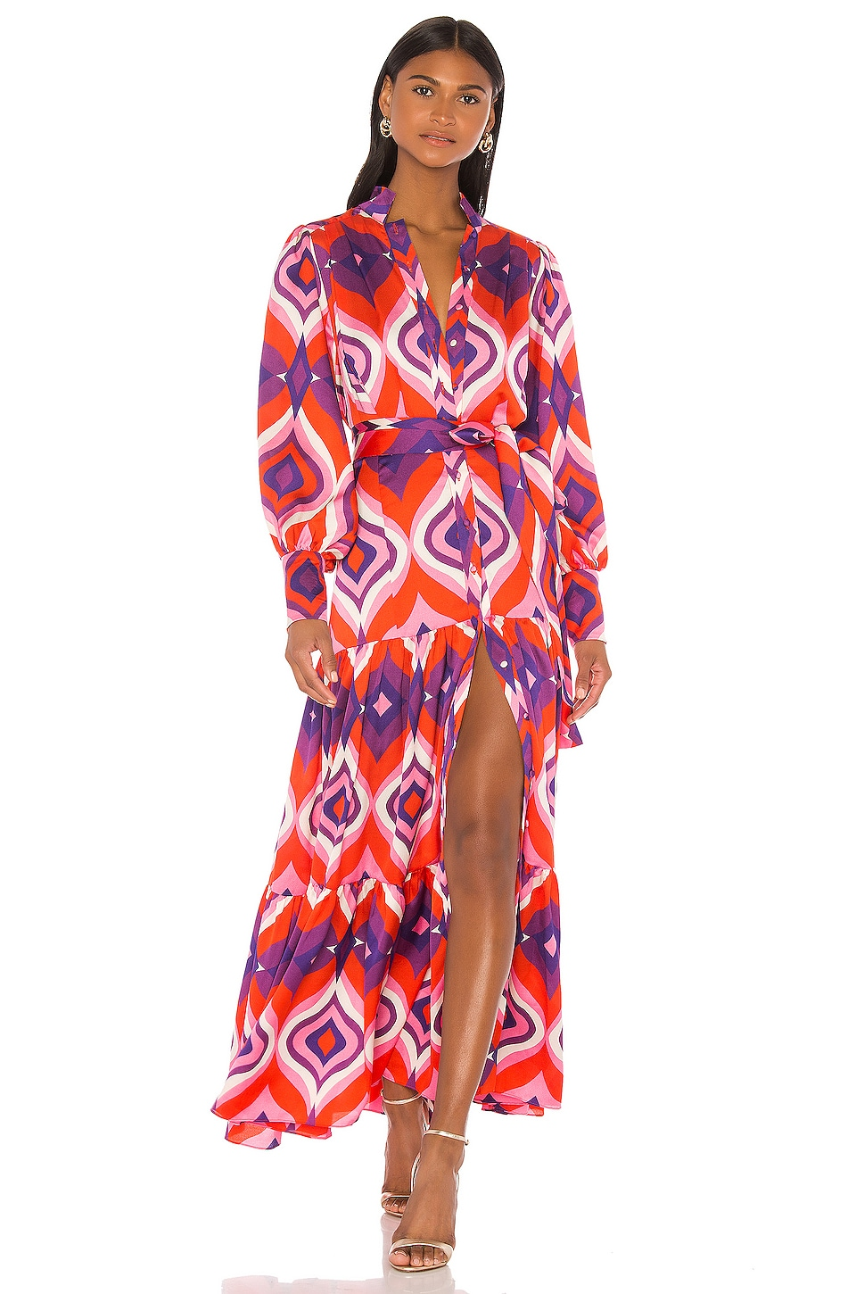 Alexis Dominica Dress in Kaleidoscope