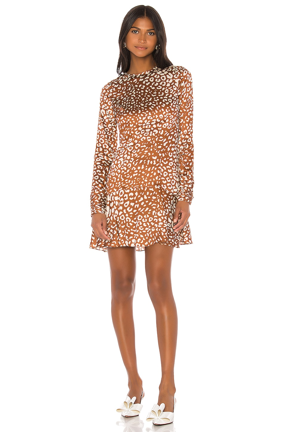 Alexis Madhu Dress in Sienna Leopard