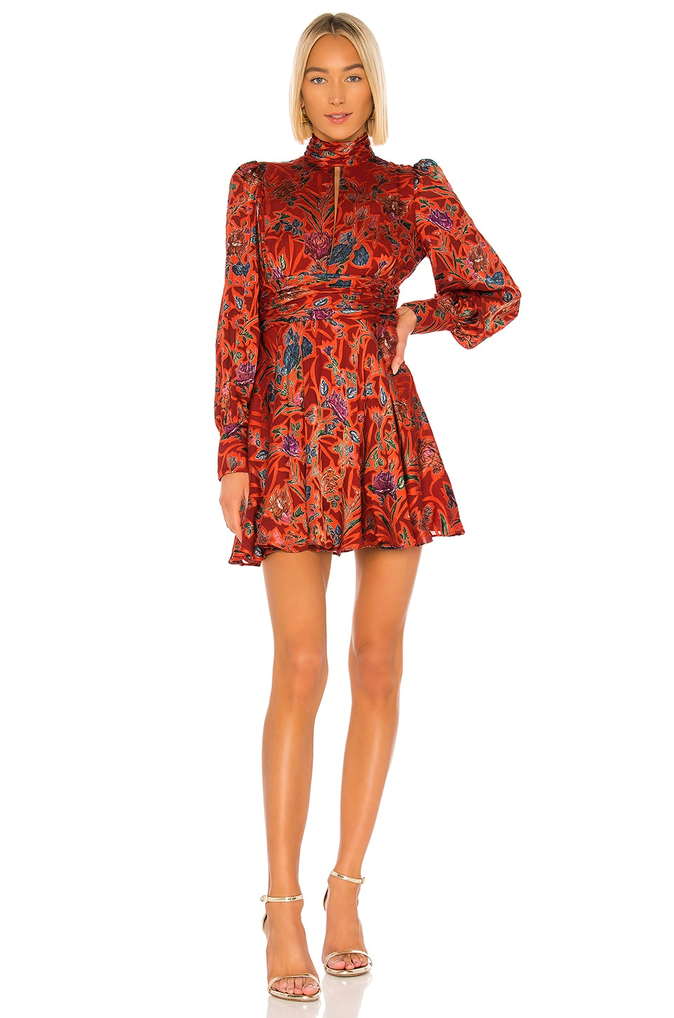 Alexis X REVOLVE Jazmina Dress in Red Floral