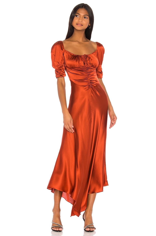 Alexis Noerene Dress in Auburn