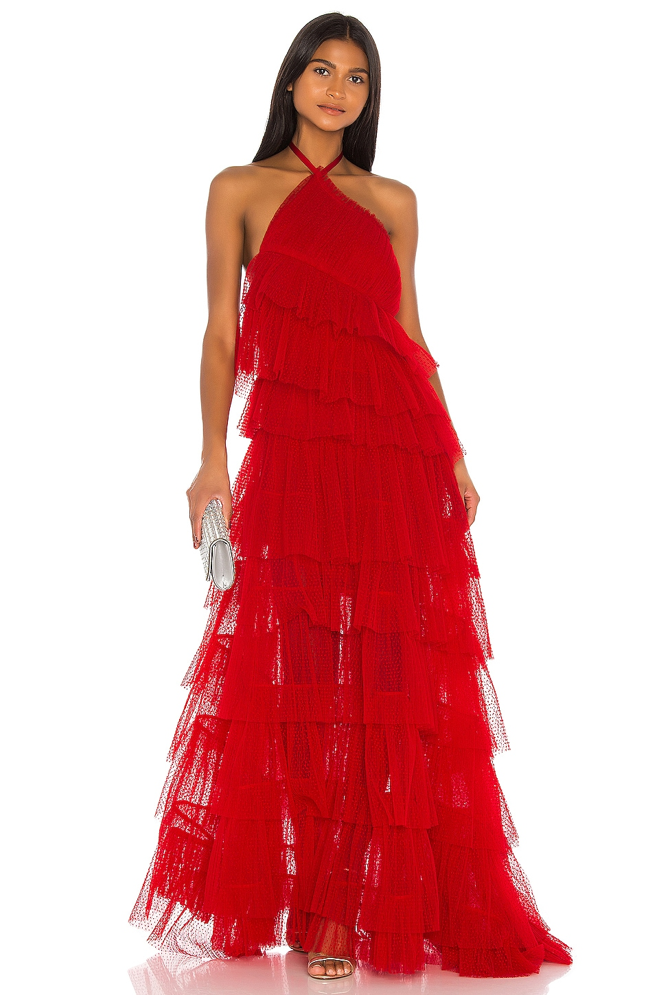 Alexis Justinia Dress in Cherry