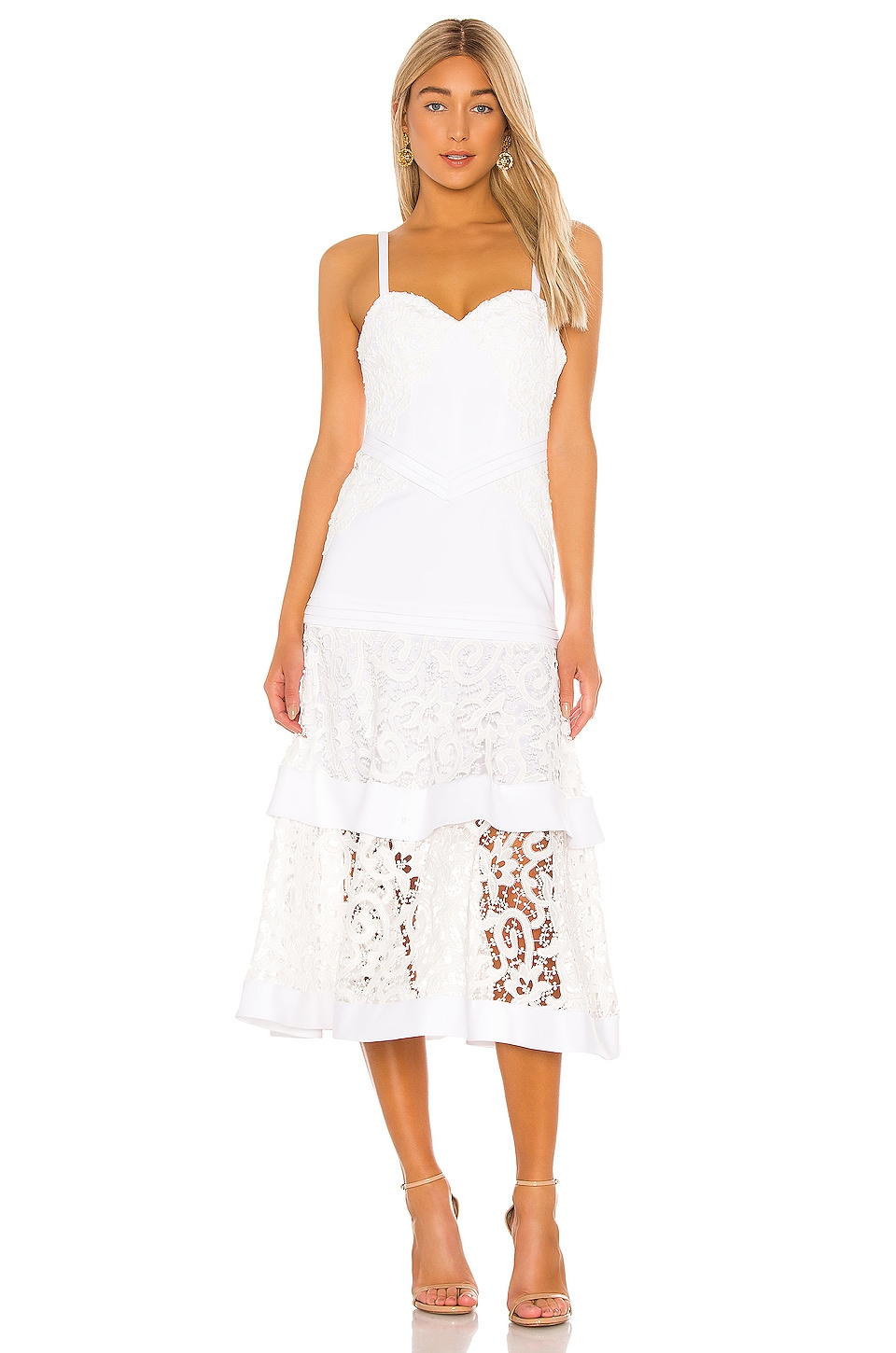 Alexis Harlowe Dress in White