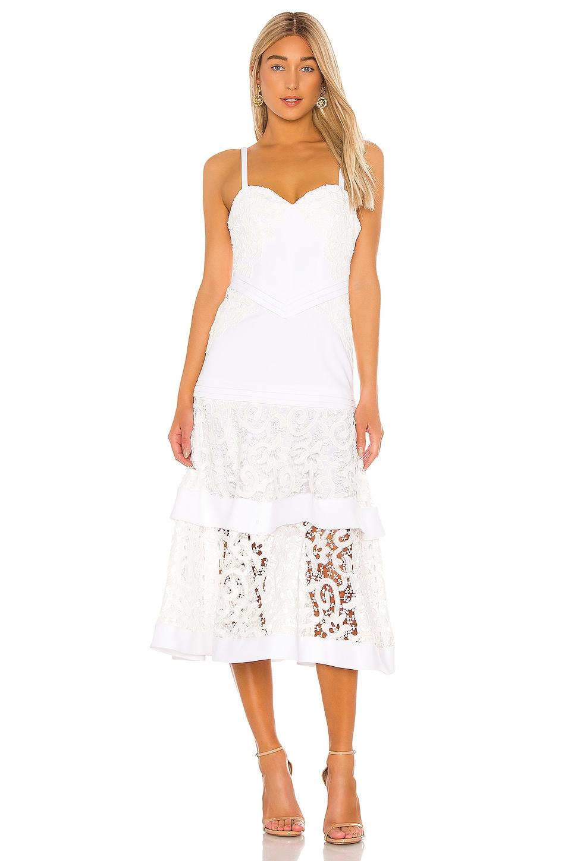 Alexis Harlowe Dress in White