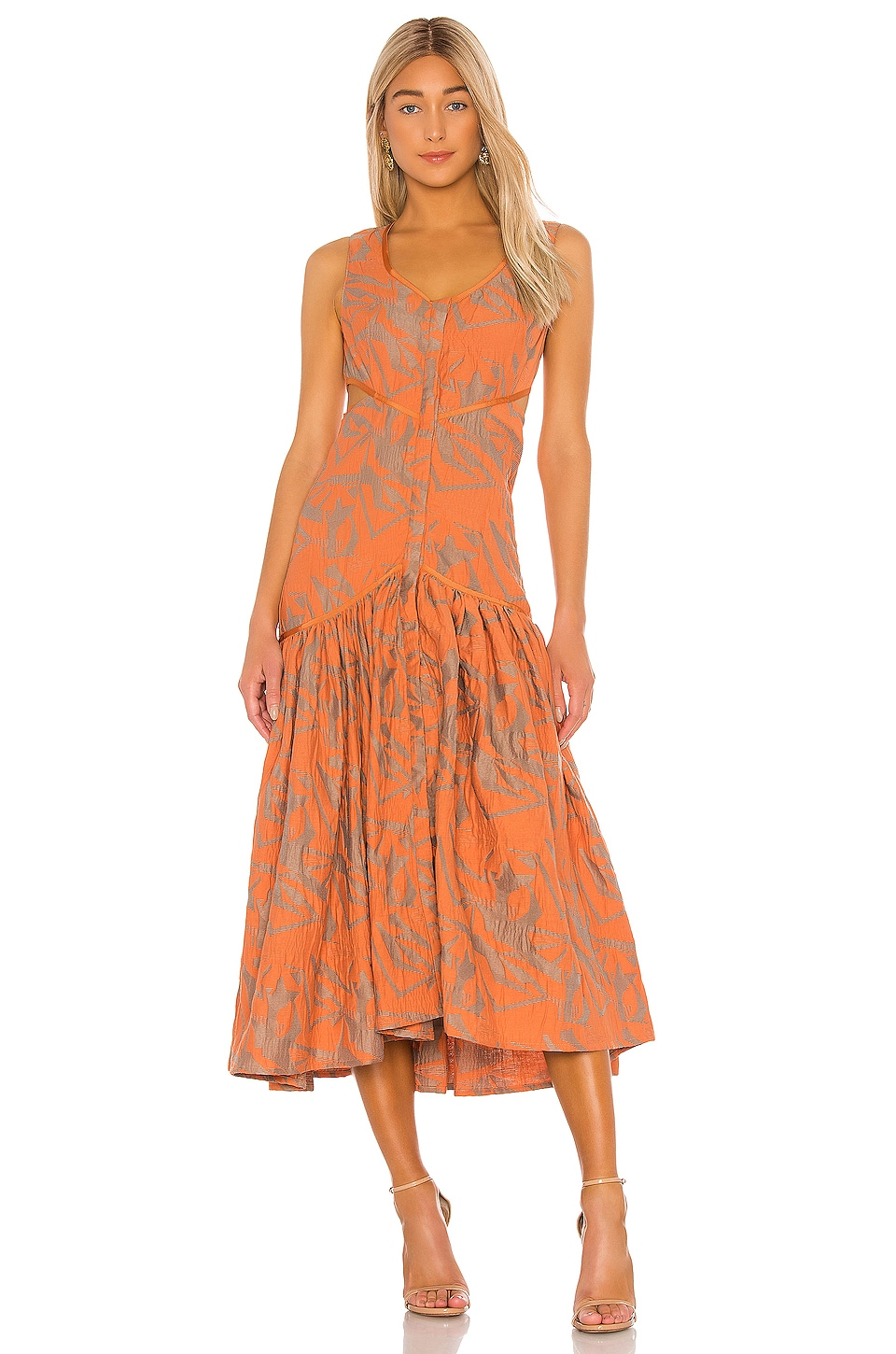 Alexis Garcelle Dress in Amber
