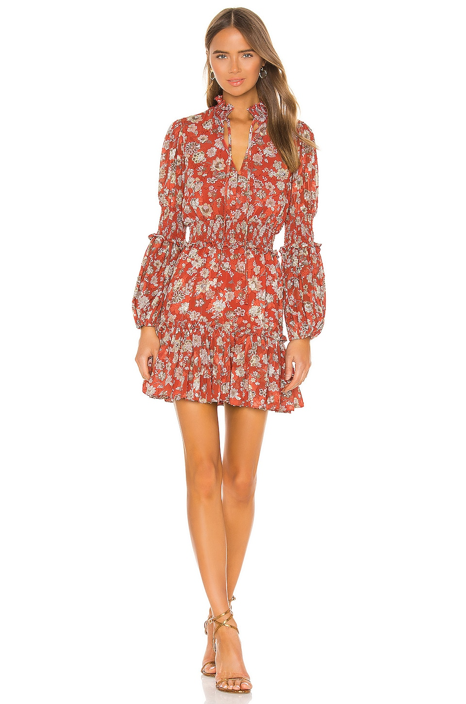 Alexis Rosewell Dress in Saffron Floral