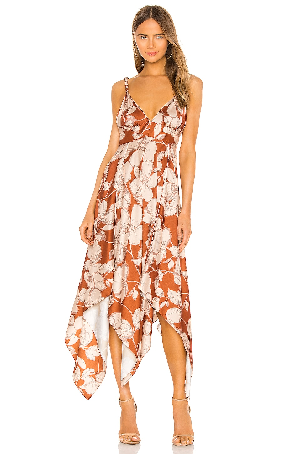 Alexis Gaiana Dress in Sand Floral