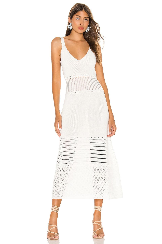 Alexis Rozanna Dress in White
