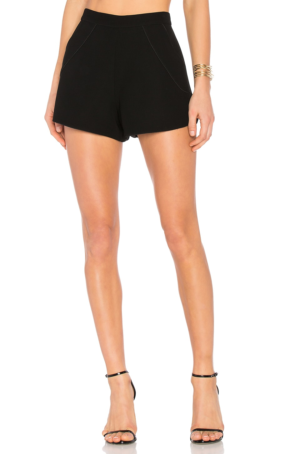 Alexis Vince Shorts in Black