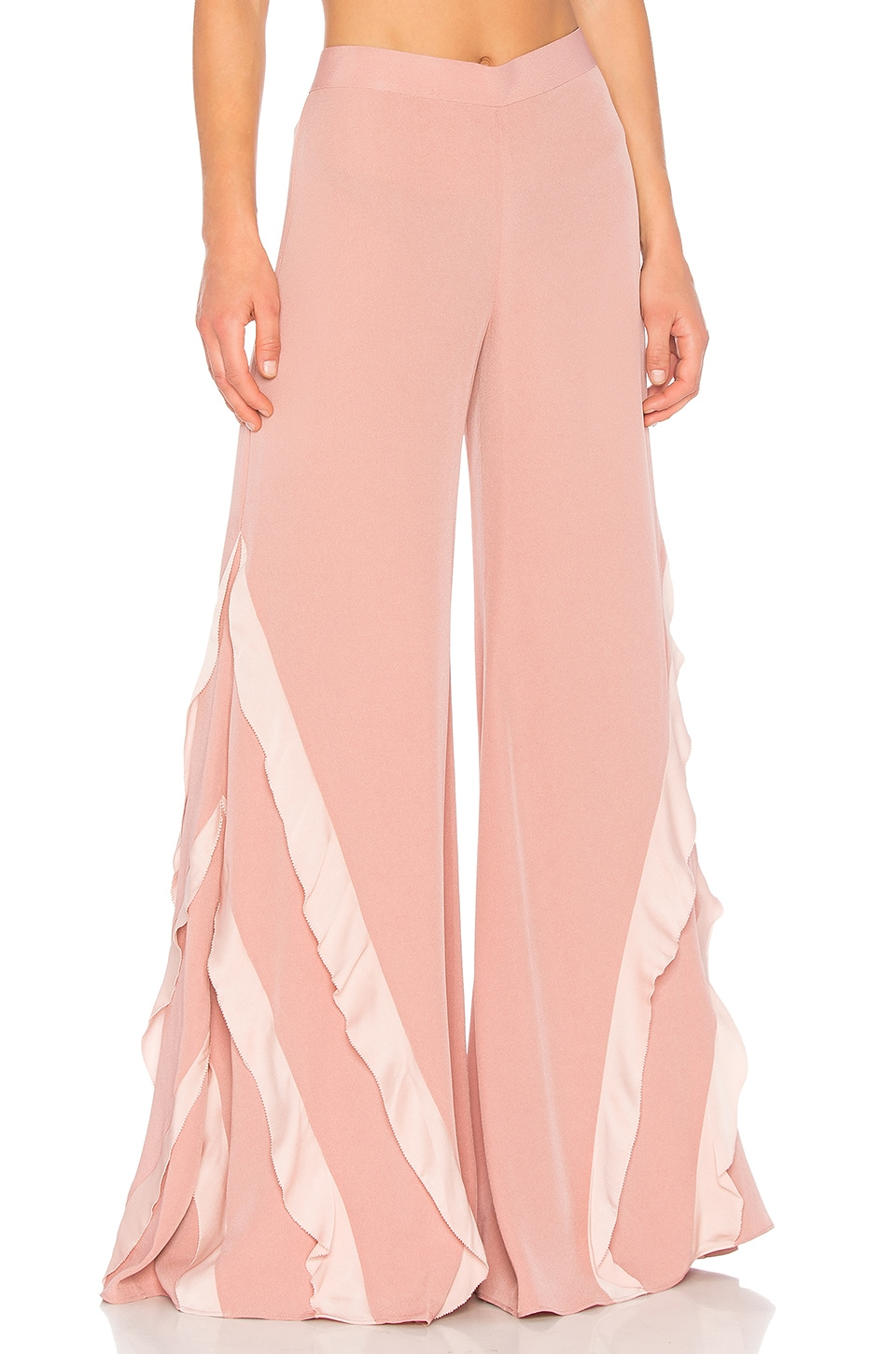 Alexis Julless Pant in Rose