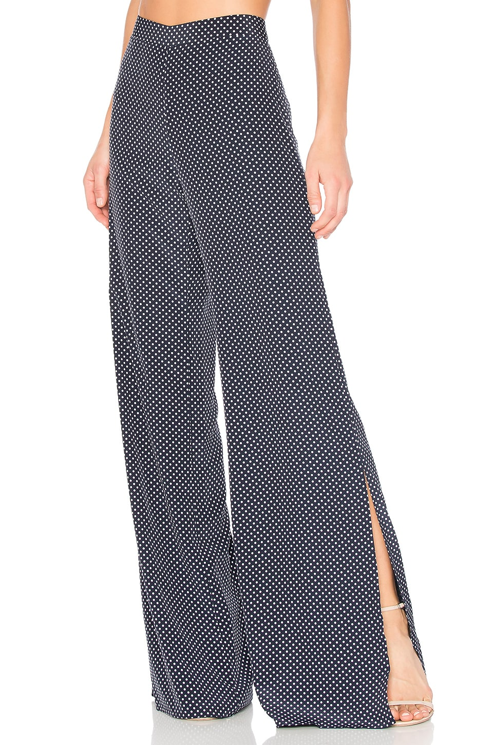 Alexis Lolette Pant in Navy Dot
