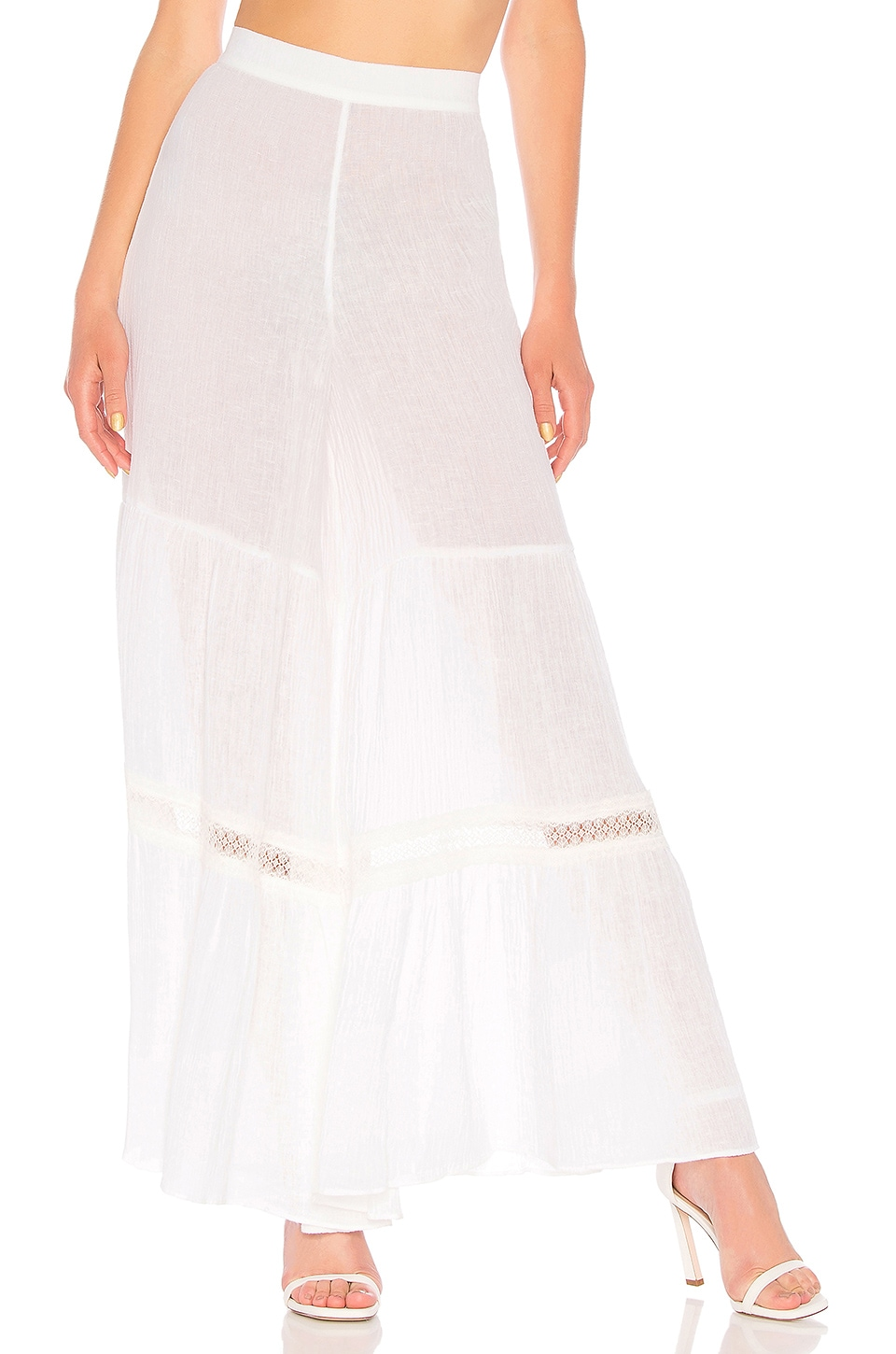 Alexis Minette Pant in White