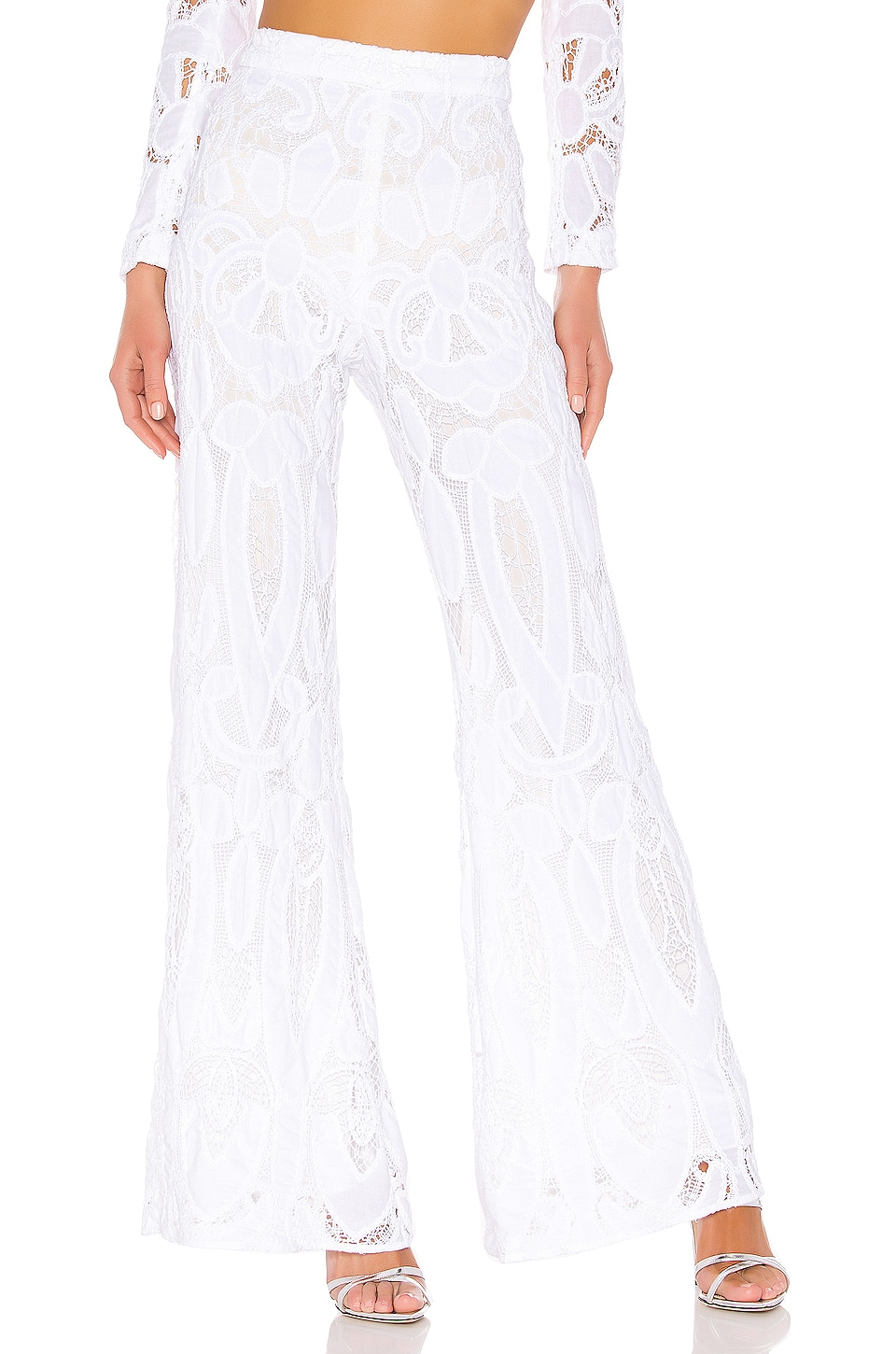 Alexis Ritchie Pant in White