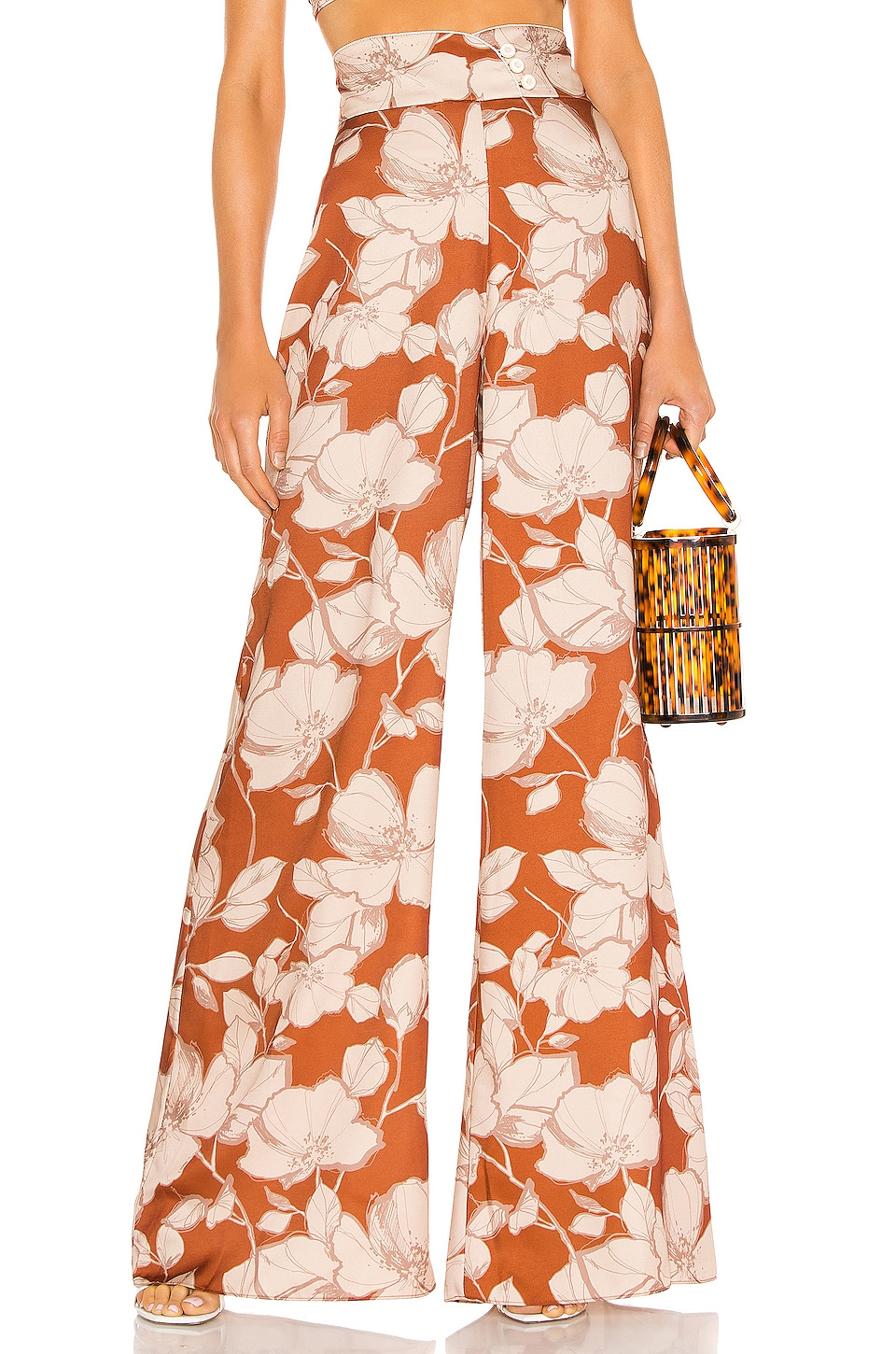 Alexis Haruna Pant in Sand Floral