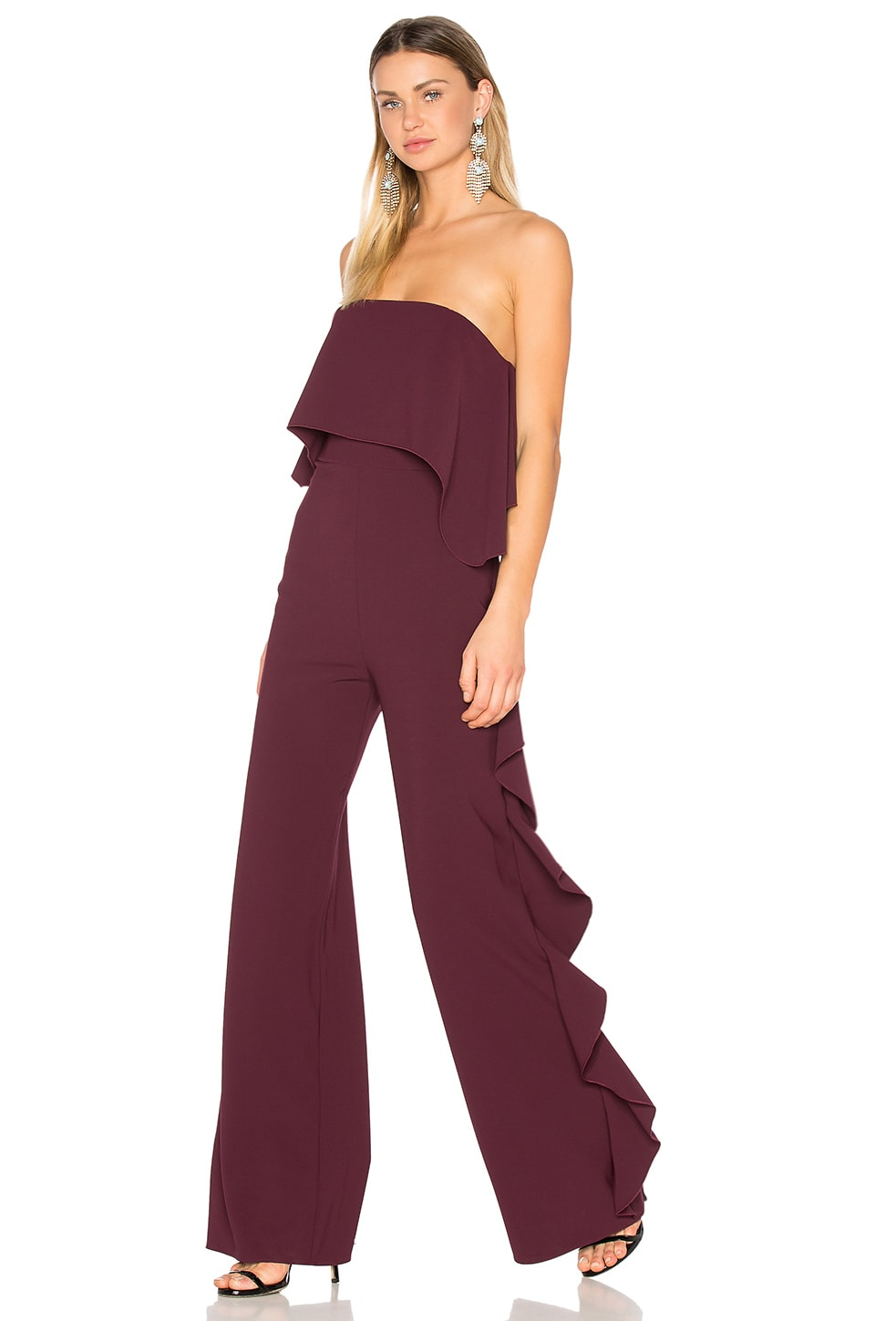 Alexis Kendall Jumpsuit in Plum