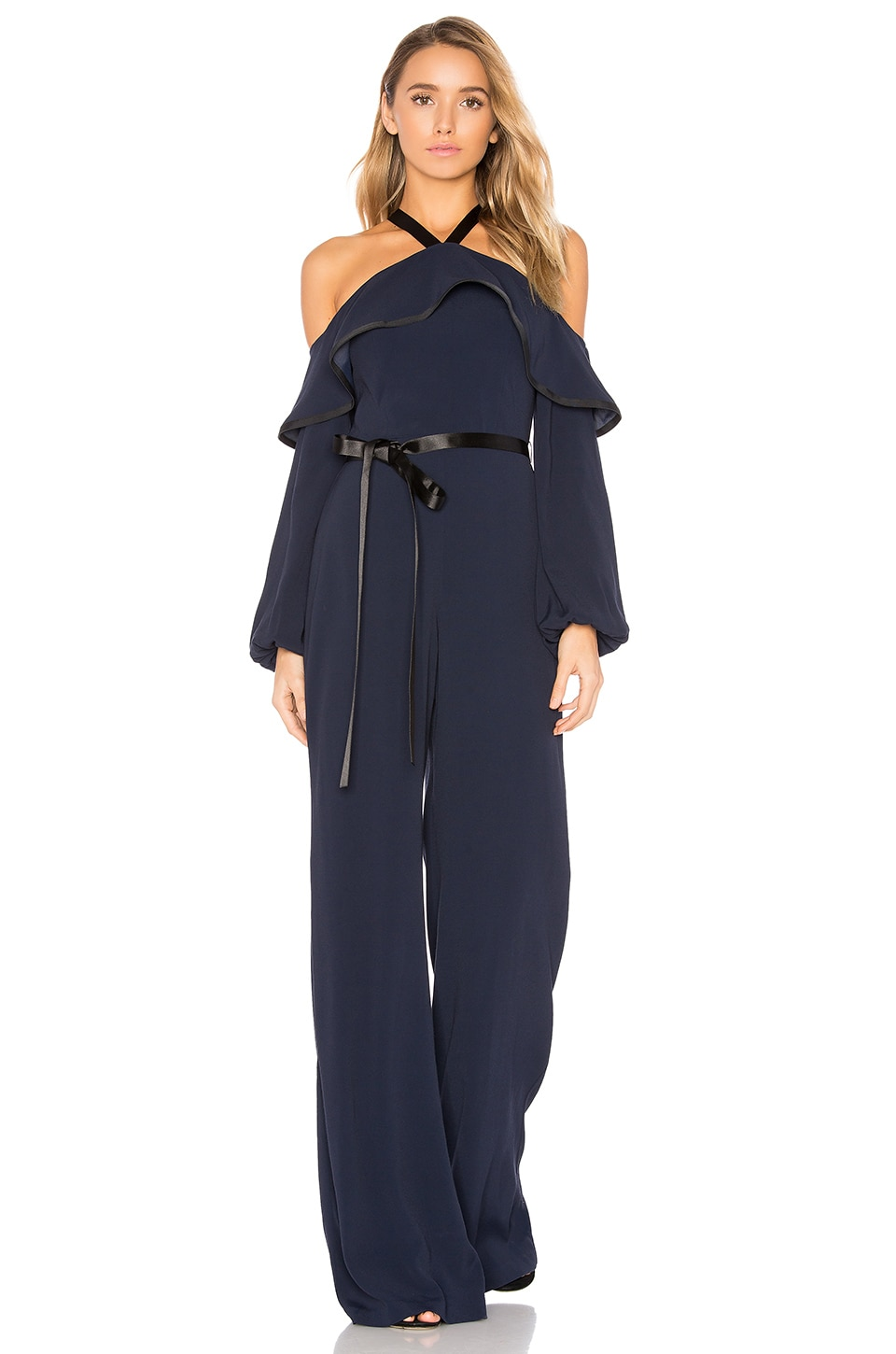 Alexis Nola Jumpsuit in Navy