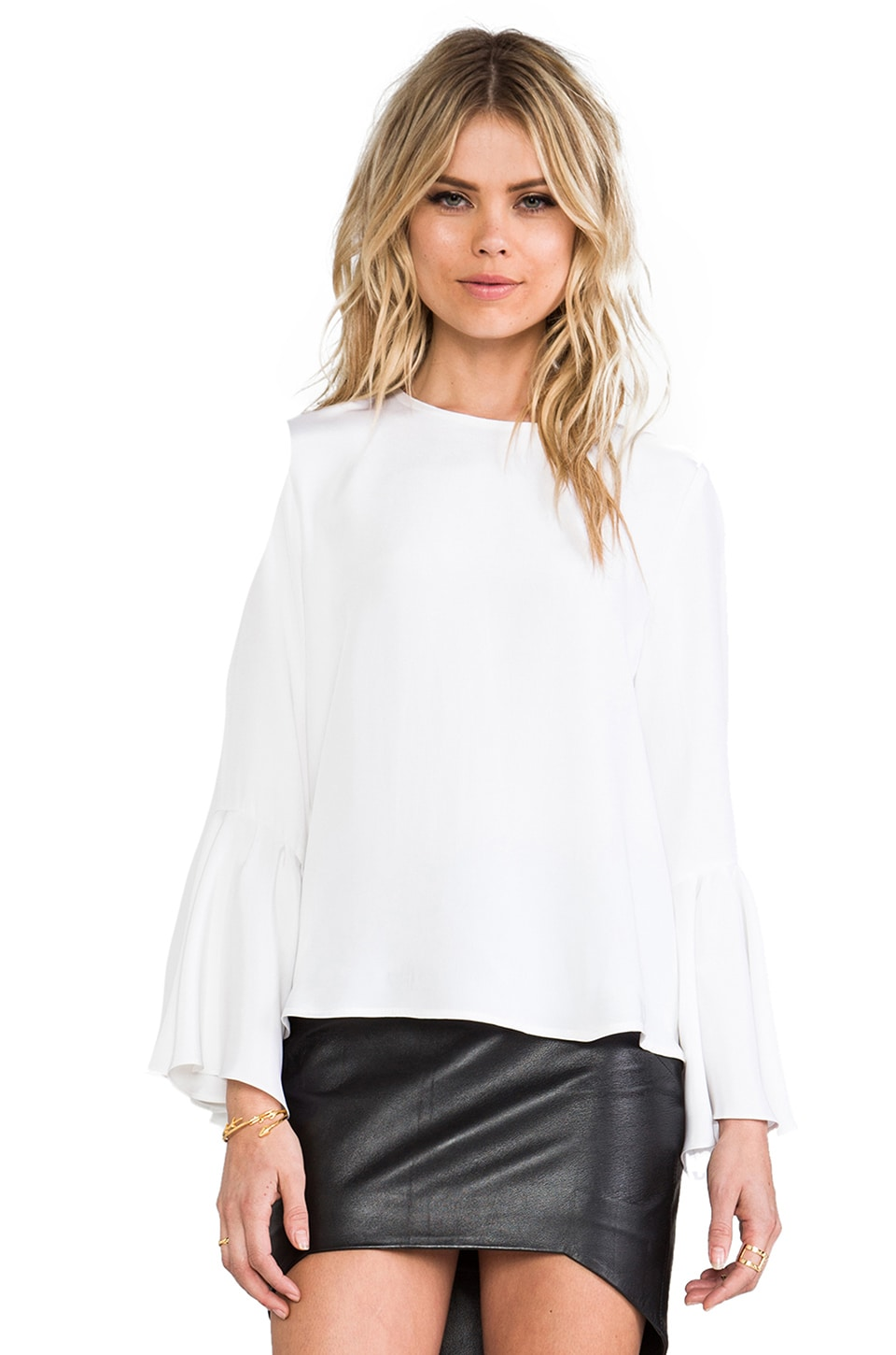 Alexis Binx Blouse in White