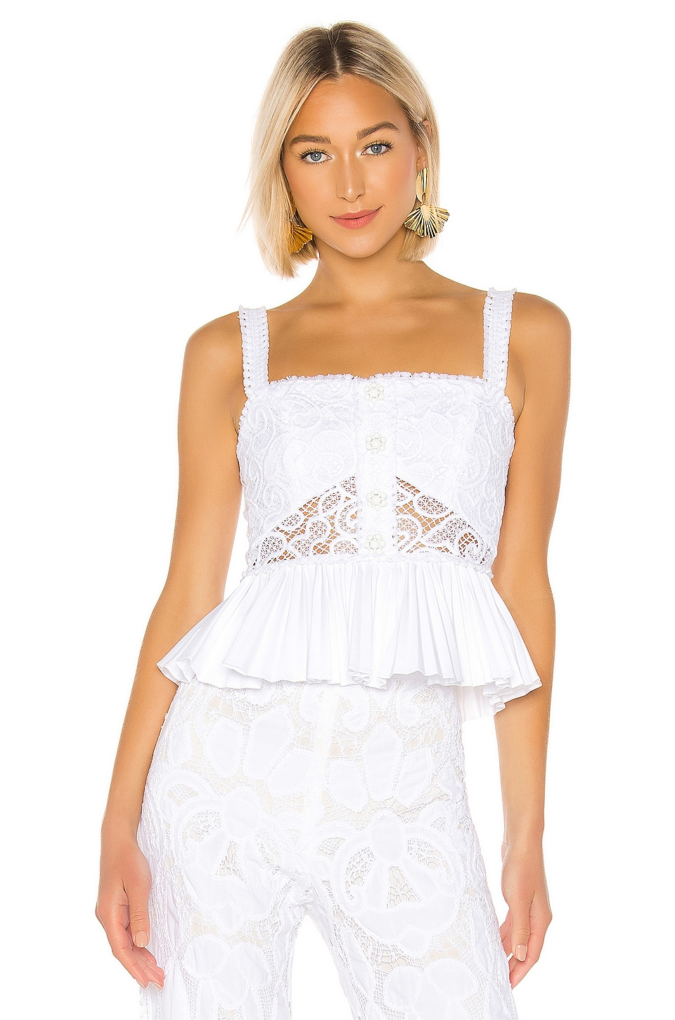 Alexis Azra Top in White