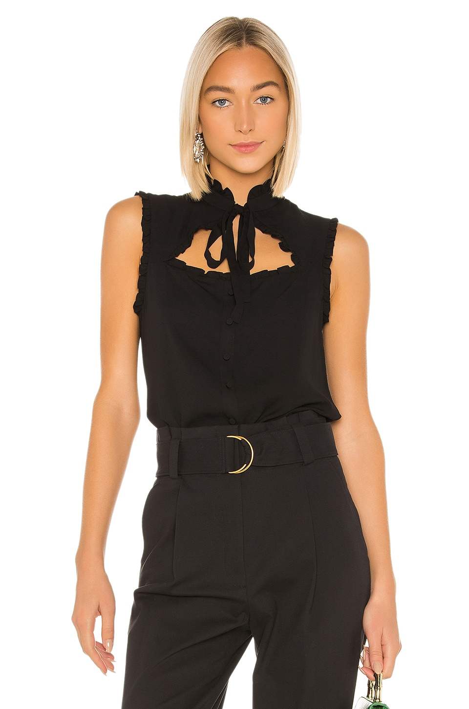 Alexis Lois Top in Black