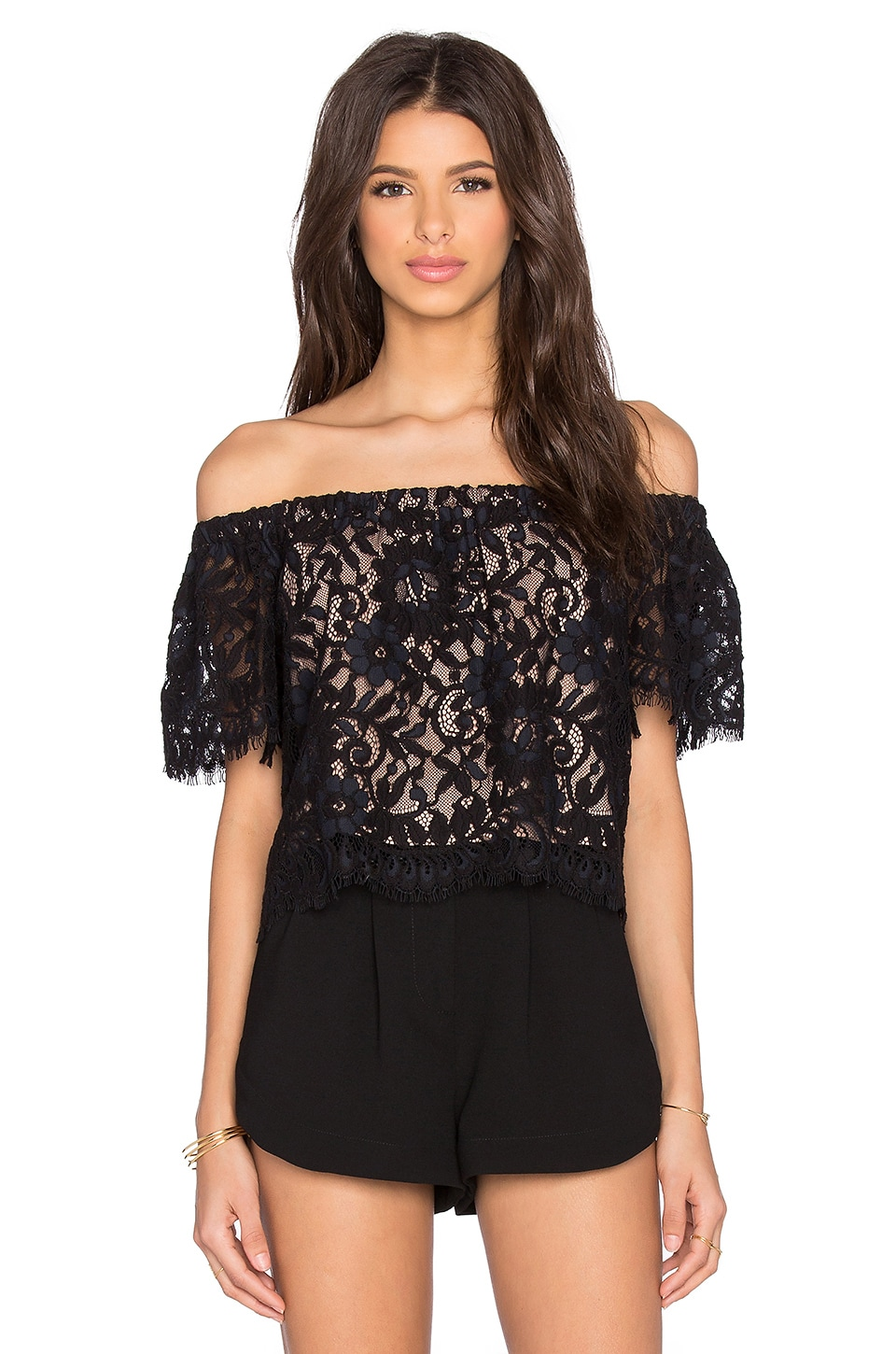 Alexis x REVOLVE Fernanda Top in Black Lace