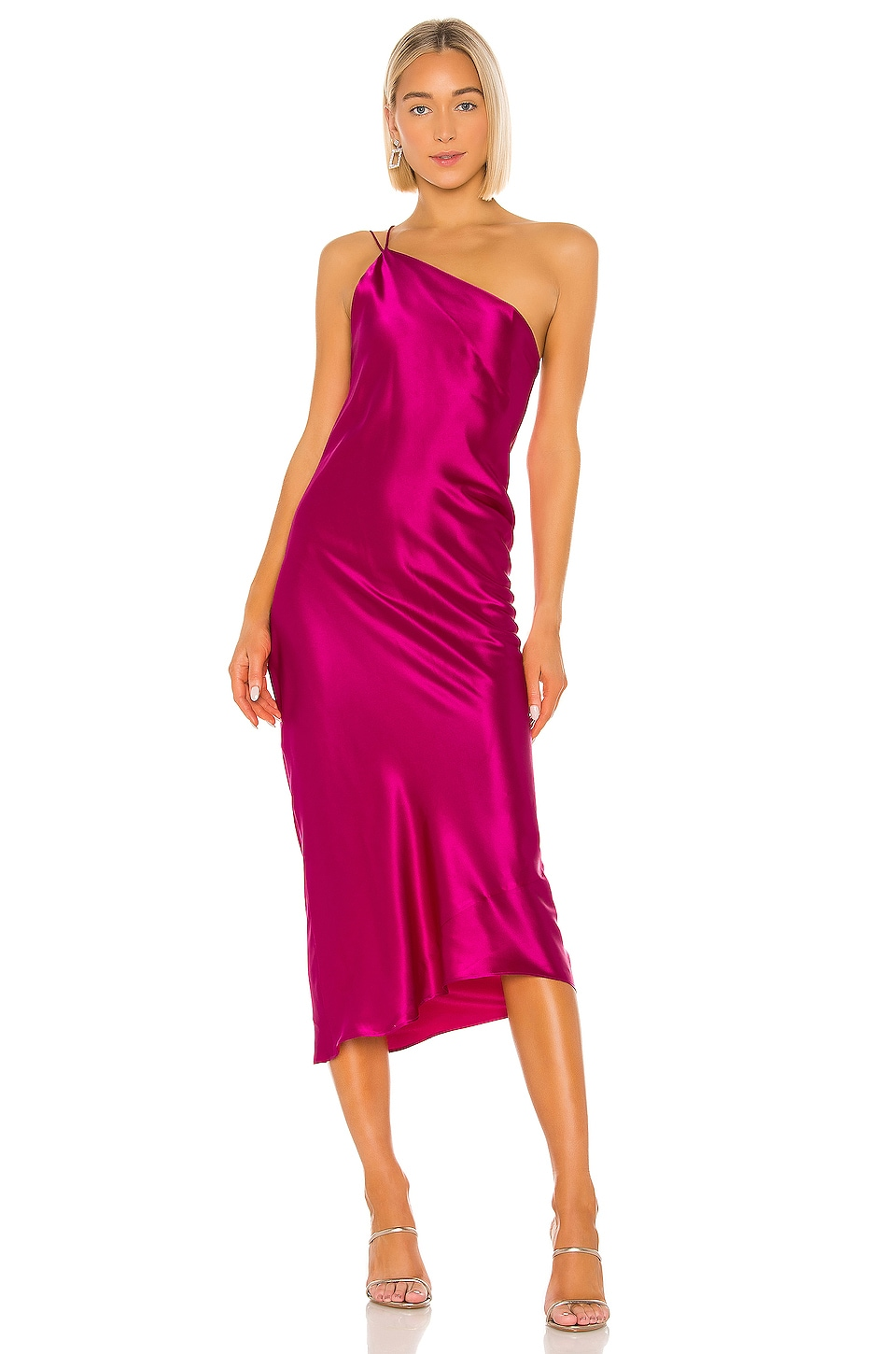 ALIX NYC Quincy Dress in Magenta