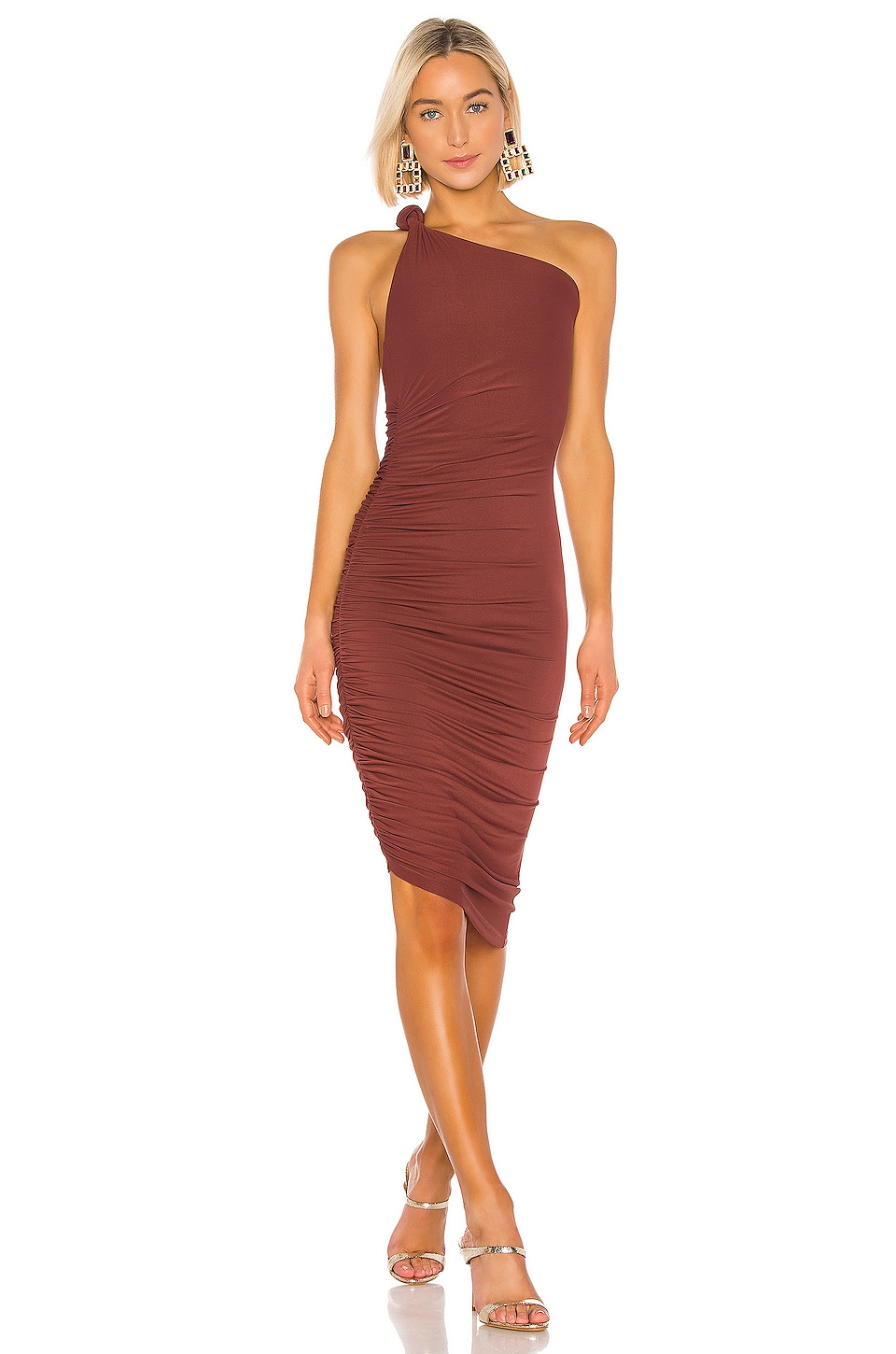 ALIX NYC Celeste Dress in Cinnamon