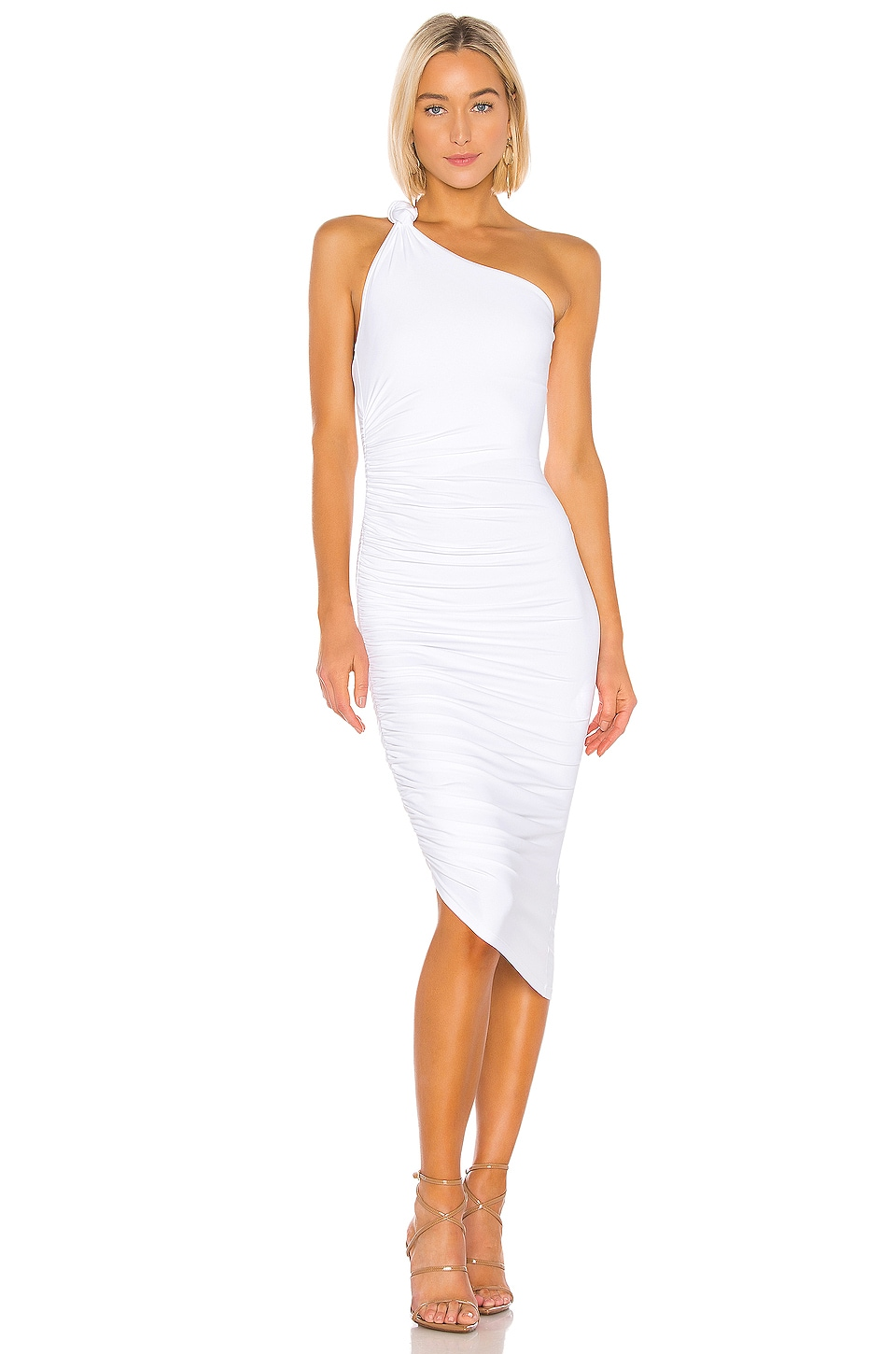 Alix ALIX CELESTE DRESS IN WHITE.