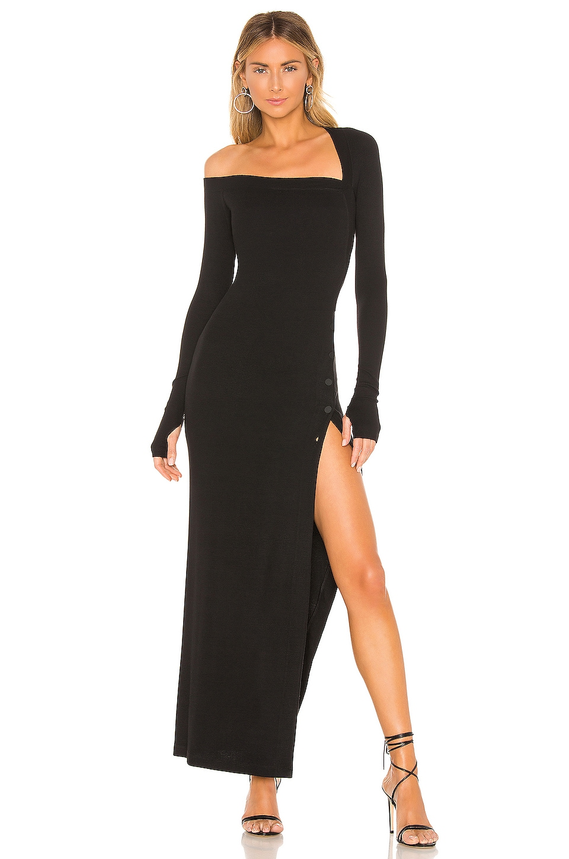 ALIX NYC Morris Dress in Black