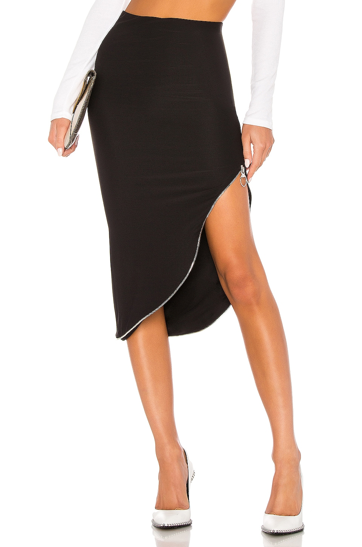 ALIX NYC Banner Skirt in Black