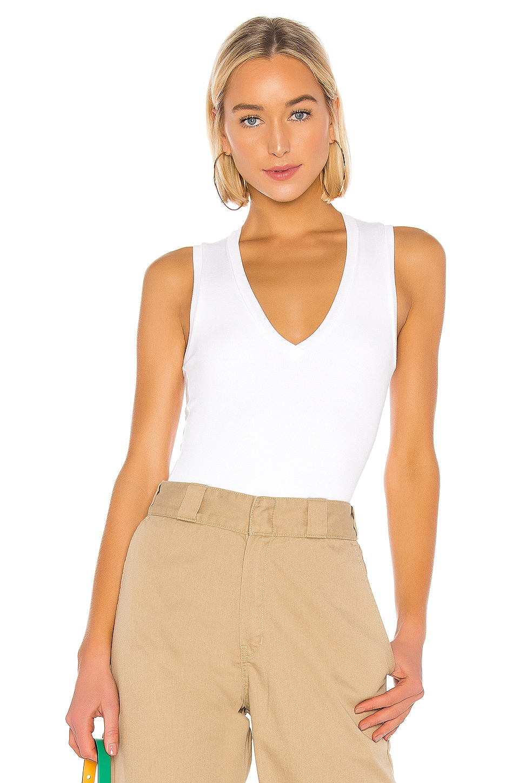 ALIX NYC Merit Bodysuit in White