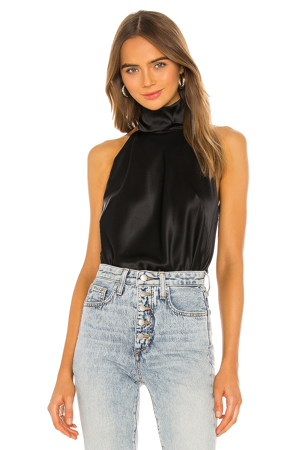ALIX NYC Laight Bodysuit in Black
