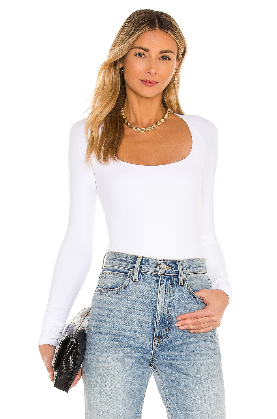 ALIX NYC Sullivan Bodysuit in White