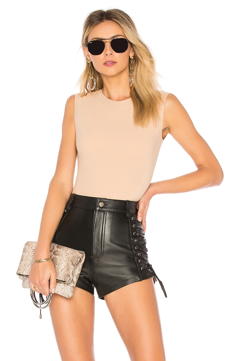 ALIX NYC Lenox Bodysuit in Nude