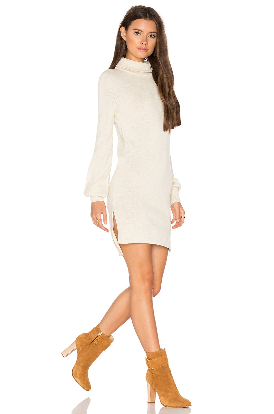 Zoni High Neck Sweater Dress by AYNI