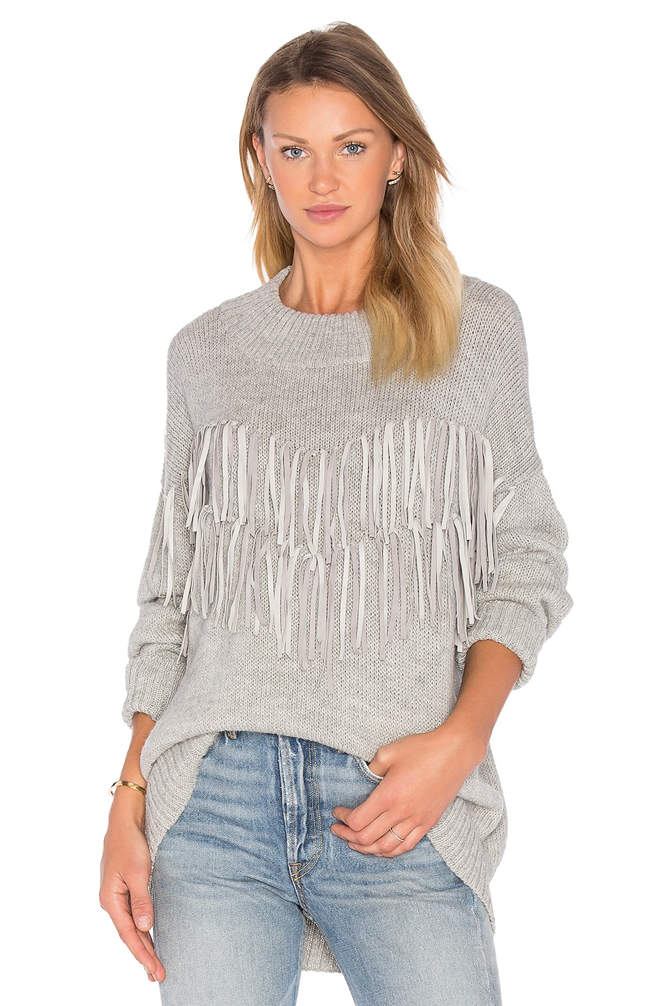 Tayi Fringe Sweater by AYNI
