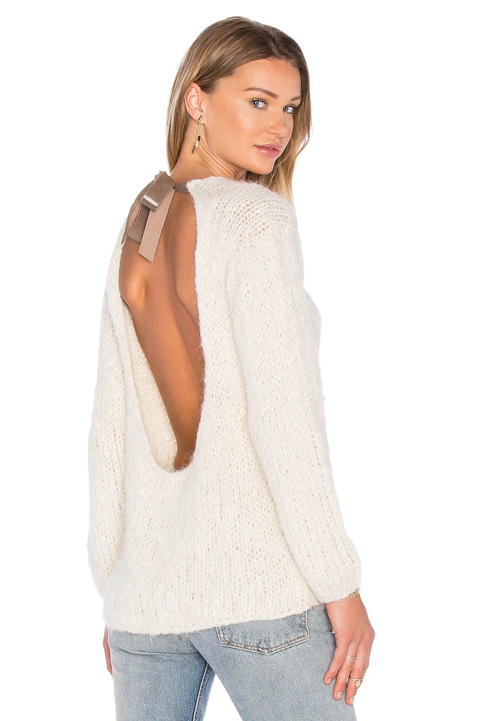 Nuqa Tie Back Sweater by AYNI