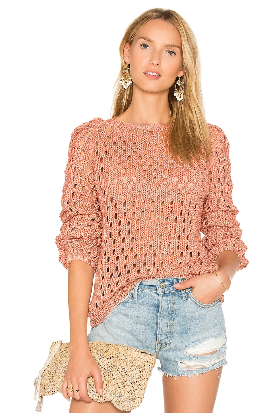 Pozo Crew Neck Sweater by AYNI