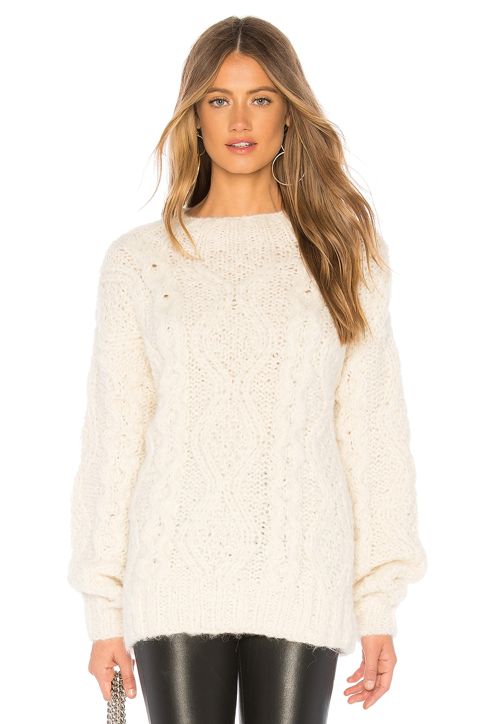 AYNI Mabel Sweater in Ivory