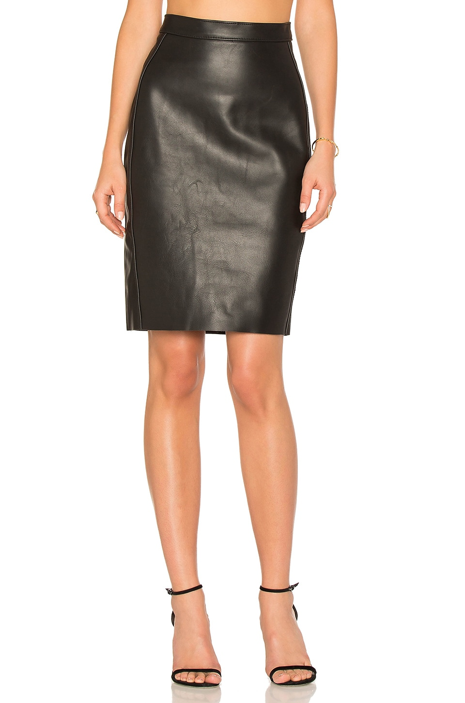 Honshu Leather Skirt by Ayni