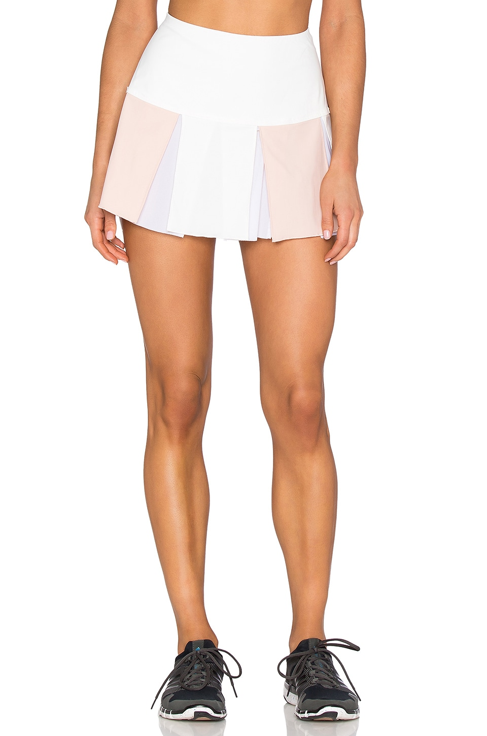 B3.0 B Active Tennis Skort in Warm White & Pink Sand