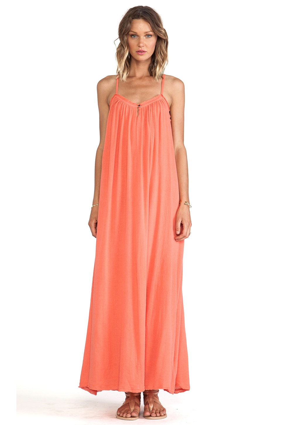 ba&sh Hudder Maxi Dress in Stabilo