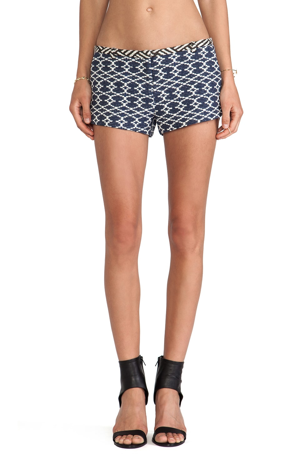 ba&sh Stock Shorts in Inca & Losange